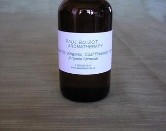 Argan Oil 100ml (Organic, Cold-Pressed)
