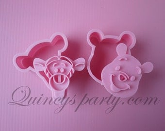 Winnie the Pooh and Tigger 2 in 1 Cookie Cutters