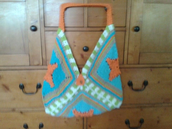 Oversize Handmade Crochet Bag Beach Bag Gym Bag