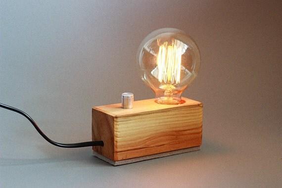Edison legno lampada da scrivania edison lampada stile for Scrivania stile industriale