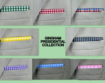 Cotton Gingham Presidential Collection