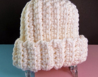 Crocheted Preemie Hats - you pick the color!