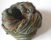 Hand Dyed Bluefaced Leicester Superwash Fingering/Sock - Hand dyed sock yarn - Fingering/Sock Weight Muddy Waters