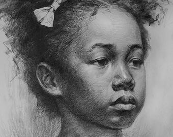 Custom original pencil portrait,hand painted drawing portrait,pencil sketch portrait,drawing painting from photos,pet portrait painting