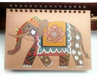 Indian Elephant Notebook (A5)