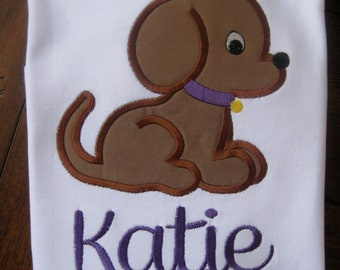 Personalized Puppy T-shirt