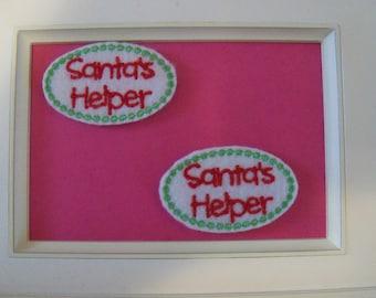 Santa Helper Feltie
