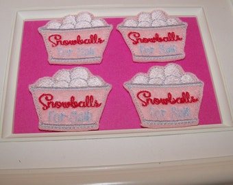 Snowball Feltie Snowballs For Sale