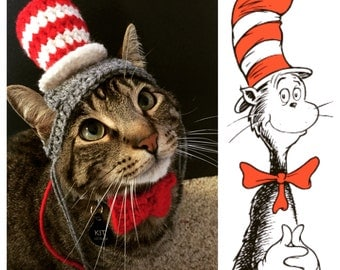 Cat in the Hat - Cat Hat Costume - Dr. Seuss