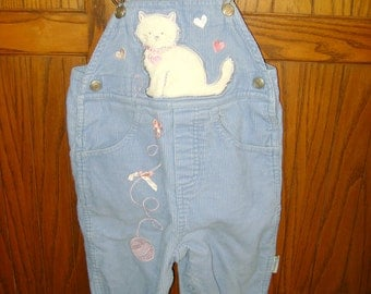 Infant Girls Corduroy Overalls