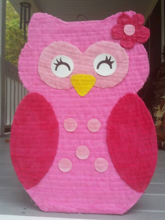 owl pinata owl birthday party owl party baby shower party baby