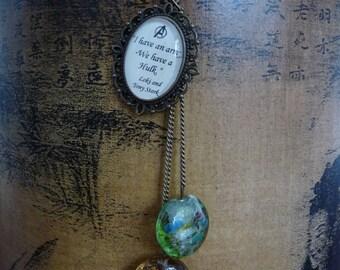 The Avengers (Stark/Loki) necklace