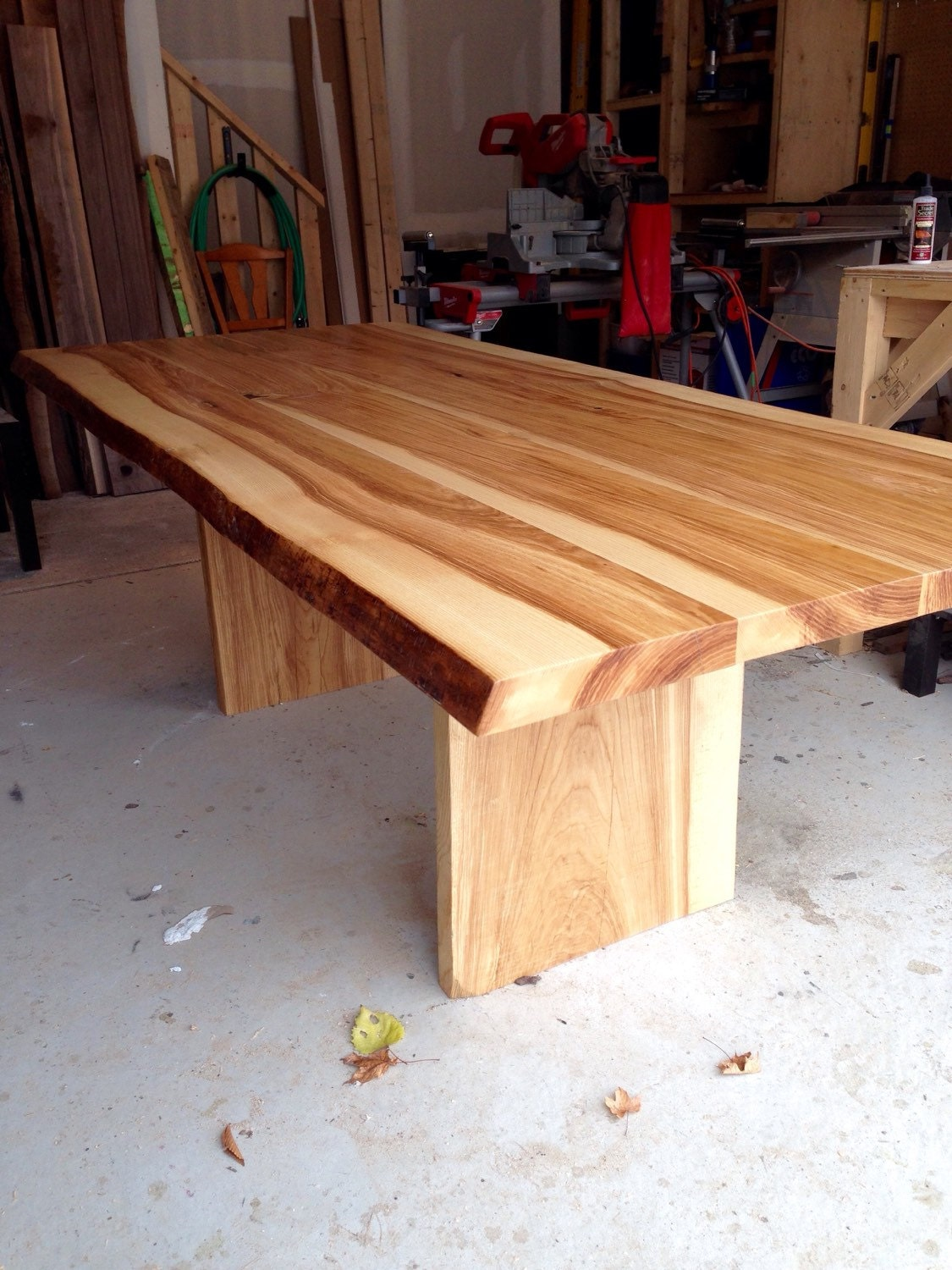 Modern Dining Table Glass Dining Table reclaimed Table Live