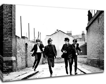 The Beatles Canvas Art Picture Huge A1 Size 32 X 22 New