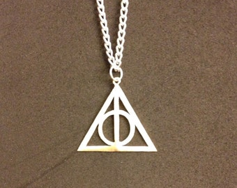 Deathly Hallows Harry Potter Handmade Necklace