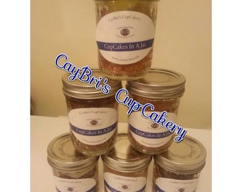 Cupcake Jars (1) each or (2) of the same for a special price