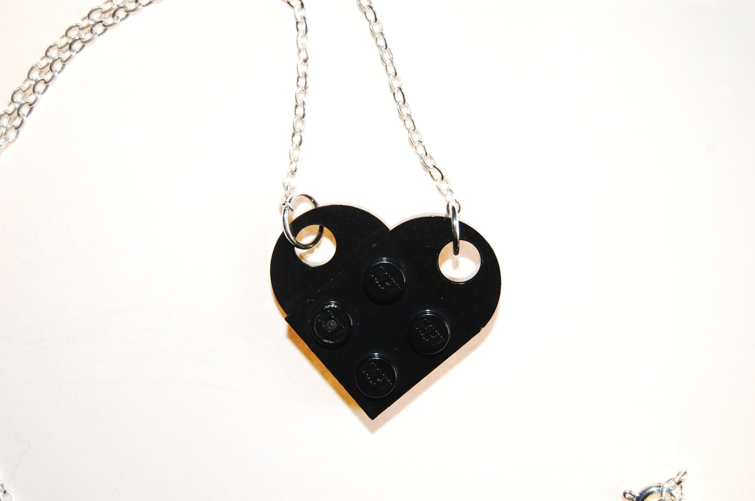 black lego necklace lego jewelry alternative by