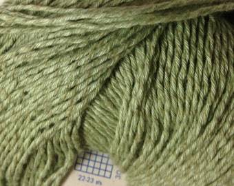 Elsebeth Lavold Hempathy hemp/cotton blend DK weight yarn (07 Sage/green)
