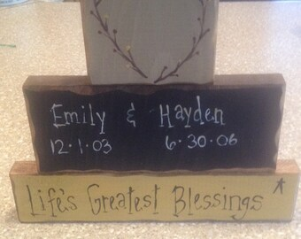 Personalized block sets