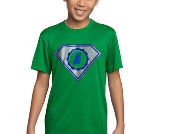 Kid's Personalized Superhero Shirt