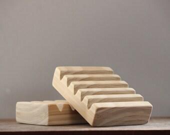 Wooden Soap Dish| Handmade