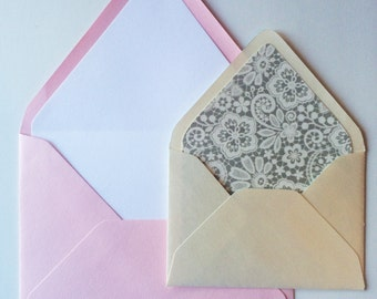 Envelope Liners, Lined Envelopes, Colored Envelopes and Liners
