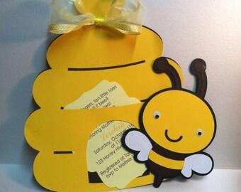 Bumblebee Invitation