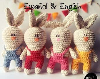Pdf Pattern rabbit amigurumi