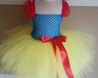 Snow White tutu Costume - photo prop photoshoot tutu outfit