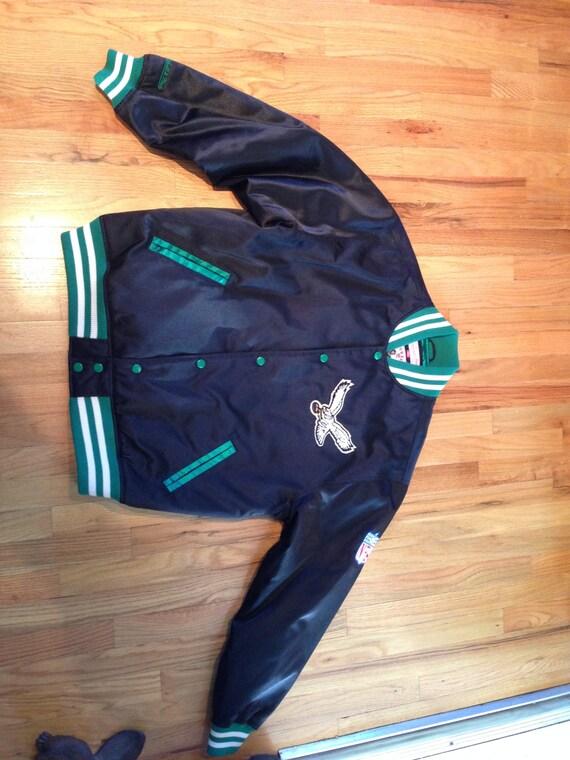 philadelphia eagles winter jacket xl mitchell ness vintage. Black Bedroom Furniture Sets. Home Design Ideas