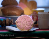 Pan Dulce Strawberry/Fresa Coin Purse