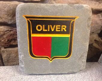 Oliver Tractor Garden Stone