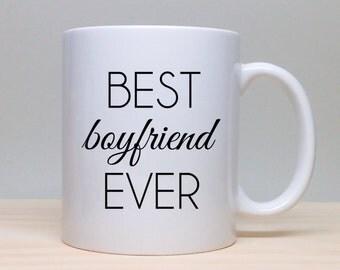 Coffee Mug Gift Idea - Gift For Boyfriend - Birthday Gift - Personalized Gift - Coffee Mug - Unique Gift Idea - Best Boyfriend Ever