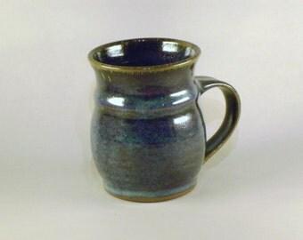 Stoneware Coffee / Tea Mug in Blue Glaze