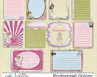 Enchanted Colors - Journal Cards (Project 365)