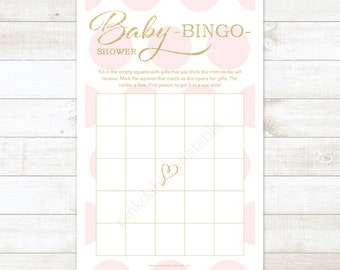 Unique Baby Shower Bingo Related Items Etsy