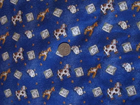 Items similar to animals fabric for kids colorful cotton for Childrens dress fabric