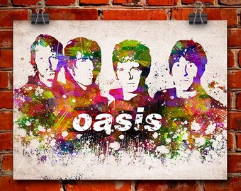 Oasis In Color Poster, Home Decor, Gift Idea