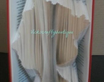 PATTERN #308 Book folding pattern. Queen Elizabeth ll, 190 folds