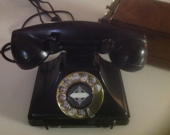 Western Electric telephone with seperate ringer