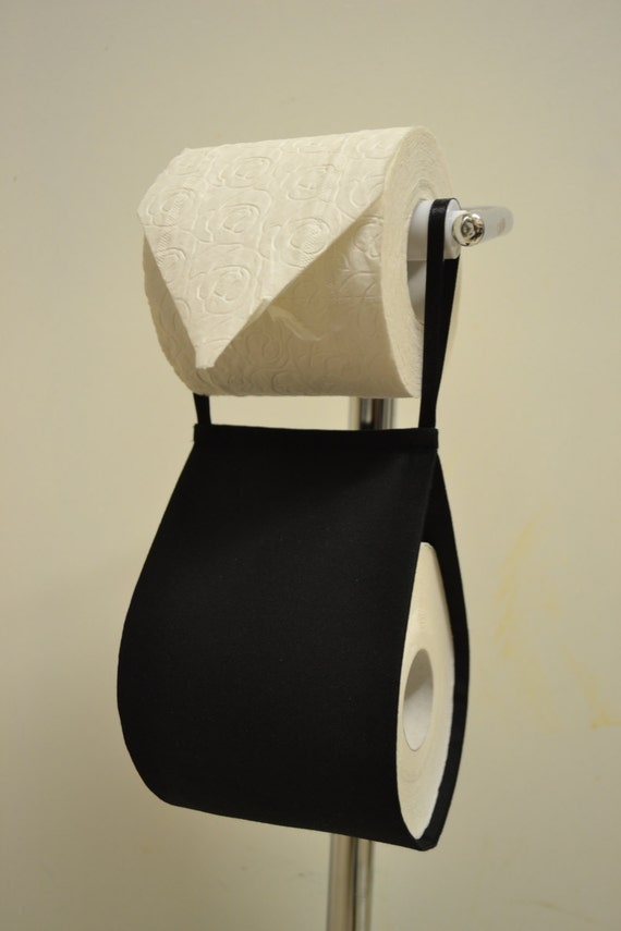 Items Similar To The Decorative Toilet Paper Holder Storage Black On Etsy