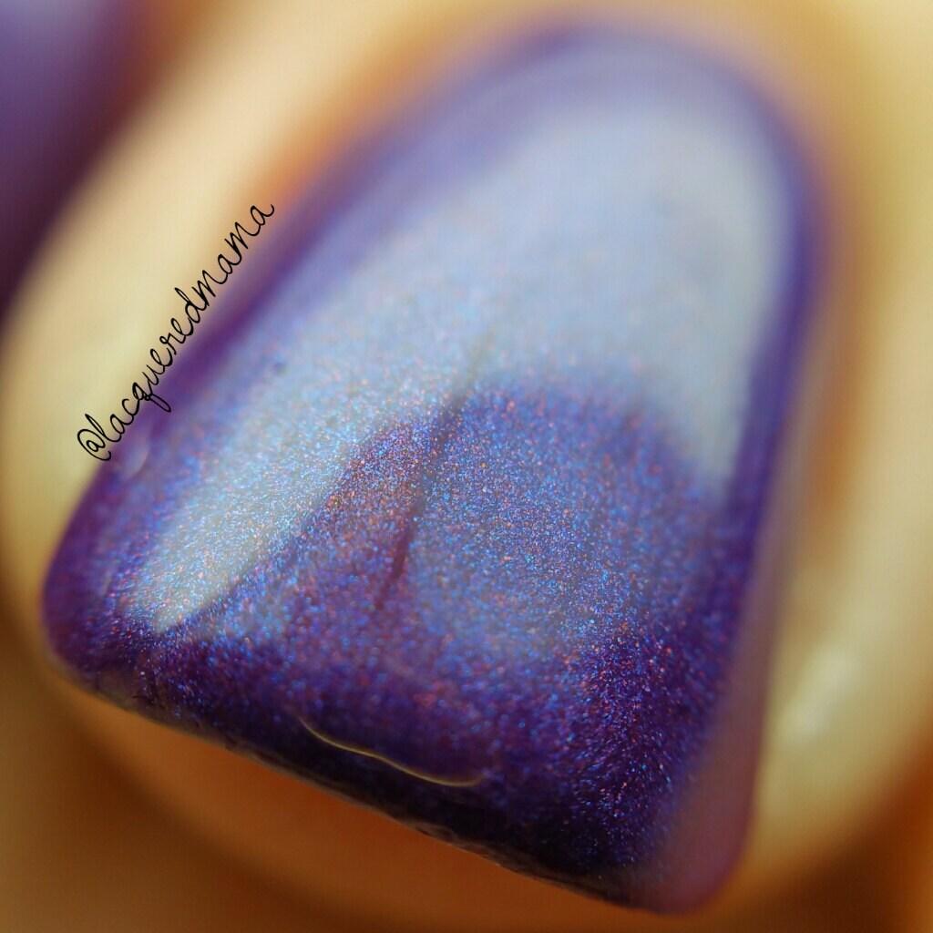 Breathe - Purple nail polish, Brilliant purple handmade indie nail ...