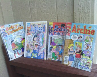 Amusing and Funny Archie Comic Book Series, Archie and Pals.
