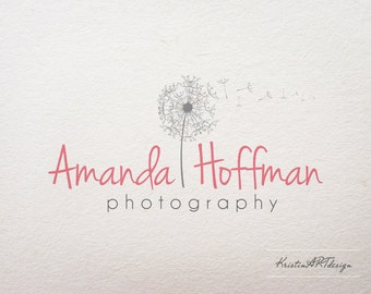 Photography Logo - Premade logo design-Dandelion logo - Customized for anybusiness logo - Premade Photography Logos- Watermark138