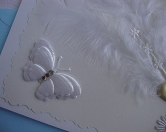 Handmade Wedding Card... Wedding Congratulations...Anniversary...Handmade...