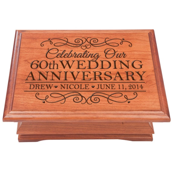 Wedding Anniversary Gifts For Her: 60th Wedding Anniversary Personalized 60th By