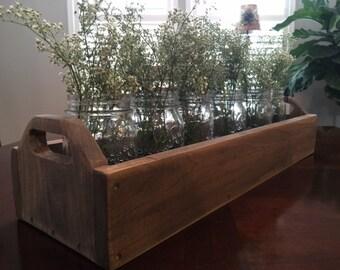 "24"" Rustic Wooden Box Centerpiece"