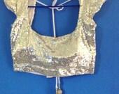 Sequin choli Saree choli Inidian sari blouse