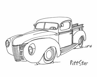 popular items for ford pickup on etsy