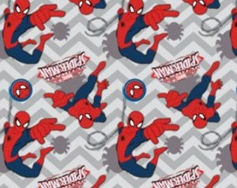 Camelot Ultimate Spiderman II Chevron Grey (Half metre)